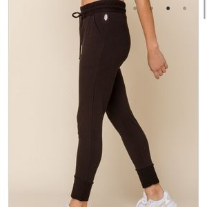 Free People Pants & Jumpsuits - Free People Sunny Sweatpant Black S